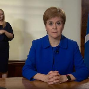 Sturgeon: I must ask all of you again to make sacrifices